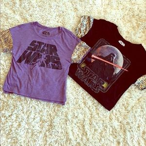 Tops - Star Wars Sequin T-shirts